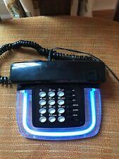 Vintage Retro blue Neon Lights Telephone 1980's-1990's look