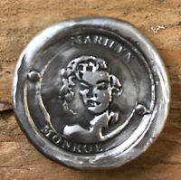 "1 Ozt MK BarZ ""Marilyn Monroe"" Tribute Stamped .999 FS Coin"