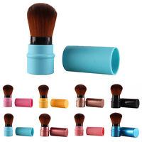 EG_ Retractable Blush Blusher Foundation Face Powder Cosmetic Makeup Brush Virtu