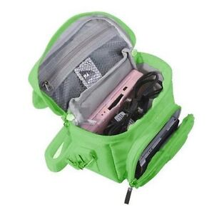 Green Nintendo DS Lite/DSi/DSi XL/3DS/3DS XL Travel Bag Carry Case