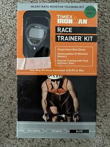 NEW TIMEX Ironman Chronograph Watch Race Trainer Heart Rate Monitor T5K214F5