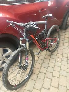 giant Liv 2017 full suspension with dropper seat