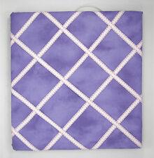 Purple Fabric Picture Board Memo Board for Room Office