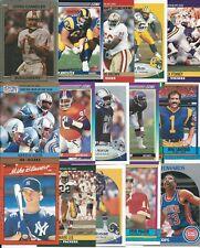 (30) Different 1990 University of Washington Huskies Alumni Cards Warren Moon