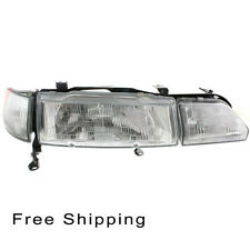 Halogen Head Lamp Assembly Passenger Side Fits 1990-1993 Acura Integra AC2503101
