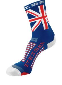 Steigen Union Jack Three Quarter Length Performance Running and Cycling Socks