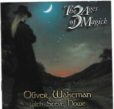 OLIVER WAKEMAN with STEVE HOWE The 3 Ages Of Magick CD YES ASIA Rick 's son!