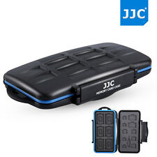 JJC Water-resistant Memory Card Case for 6SD+6MSD+2SIM+4Micro SIM+4Nano SIM card