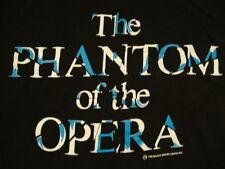 Vintage The Phantom Of The Opera Broadway Play Musical Drama '86 T Shirt L