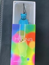 Luke Chueh Hung Bear Phone Charm/Zipper Pull Blue Designer Vinyl