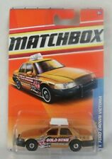 Matchbox Ford Crown Victoria (Gold Rush Taxi) #68 City Action