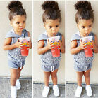 Infant Baby Kids Girls Boys Vest Clothes Hooded Tops+Shorts Pants Outfits Set AU