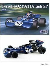 TYRRELL 002 1971 BRITISH GP Ebbro J.Stewart F.Cevert 1/20 Model Kit Nuovo New