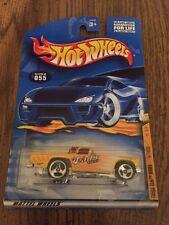 Hot Wheels card #2001/055 57 T-Bird with 3 Spoke  wheels