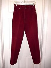 "Wrangler Jeans-size 7/8, wine    27"" waist, 31"" inseam"