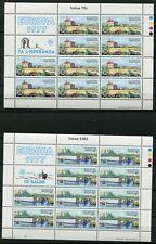 Malta 554 - 555 Kleinbogen Satz postfrisch, Europa - Landschaften