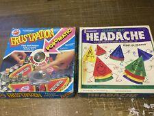 Bundle Vintage Frustration & Headache Pop-O-Matic Games Peter Pan Playthings