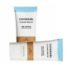COVERGIRL Clean Matte BB Cream Medium/Deep 550 For Oily Skin  X 2 TUBES