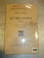 LIBRO: AB URBE CONDITA LIBER 1 - TITO LIVIO - G. B. PARAVIA - ROMA 1928^^^^^^^^
