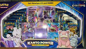 Pokemon TCG Kanto Power Collection - Mewtwo Dragonite ex 10 booster set