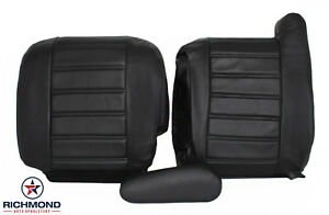 2004 Hummer H2 Adventure Series Pkg -Complete Driver Leather Seat Covers Black