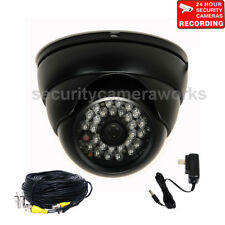Security Camera Outdoor Ir Day Night Vision Wide Angle with Power and Cable bdk
