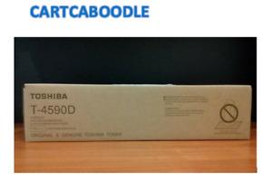 Genuine Toshiba T4590D Black Toner e-studio 256 306 356 456 356SE 506SE T-4590D