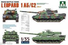 Char de combat Allemand LEOPARD I A5/C2- KIT TAKOM INTERNATIONAL 1/35 n° 2004