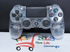 Sony PS4 Dualshock Wireless Controller Crystal Clear