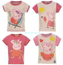 BNWT Licensed PEPPA PIG Girls Summer Top/T-Shirt 1-6y Holiday Swimsuit/Armbands