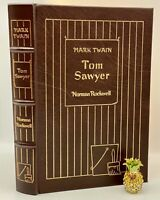 Easton Press TOM SAYWER Huckleberry Finn Collector's Edition NORMAN ROCKWELL ILL