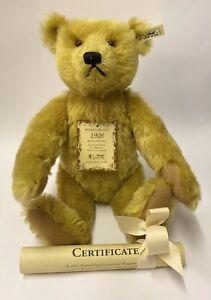 RARE ~ Steiff 1994 British Collectors 1908 REPLICA No 1972 ~ EAN 406072 RRP £399
