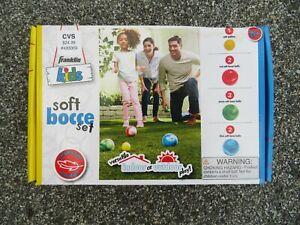 Franklin Kids Soft Bocce Set Versatile Indoor Or Outdoor Play