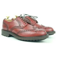 Alfred Sargent 'Stirling' Brown Leather Country Brogues UK 7 FX