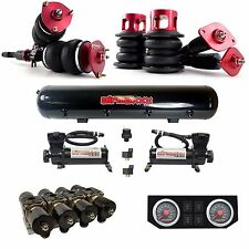 AirLift Air Suspension Struts 03-08 350Z Blk Air Compressors Tank Manifold Gauge