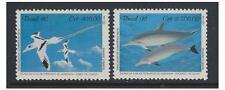 Brésil - 1992 U.N Conférence (Oiseaux & Dauphin) Ensemble - MNH - Sg 2518/19