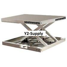 NEW! Southworth Lift-Tool Aluminum Scissor Lift Table 300 Lb. Capacity!!