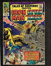 Tales of Suspense #72 ~ Iron Man/ Capt. America ~ 1965 (4.0) WH