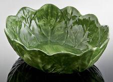 BASSANO große ovale Salat Schale Schüssel Ausgefallene italienische Keramik 31x9