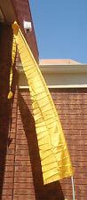 Balinese Yellow Flags 4 metre (pair) Bali Umbul Ceremonial Festive Wedding