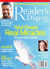 Magazine Reader's Digest December 2007 Denzel Washington Brokaw Real Miracles