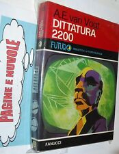 van vogt DITTATURA 2200  futuro FANUCCI 13 OTTIMO
