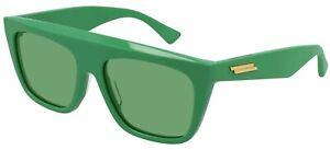 Bottega Veneta BV1060S Green/Green 57/17/145 unisex adults Sunglasses