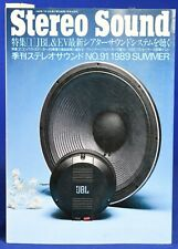 Stereo Sound #91 Summer 1989  Japanese High End Audio Magazine in Japanese