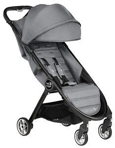 Baby Jogger City Tour 2 Lightweight Travel Stroller FREE Belly Bar Slate NEW