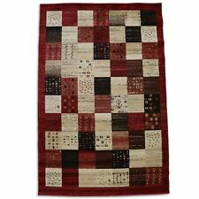 Patchwork Rectangle Traditional-European Rugs