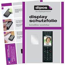 2x AVM Fritz!Fon MT-F Schutzfolie klar Displayschutzfolie Folie dipos