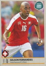 216 GELSON FERNANDES SWITZERLAND STICKER ROAD TO RUSSIA WORLD CUP 2018 PANINI