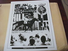 EPSOM DERBY - SHERGAR & WALTER SWINBURN 1981  : 10X8 PRINT (25cm x 20cm)