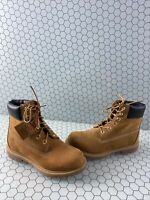 Timberland Premium 6 Inch Wheat Nubuck Lace Up Ankle Boots Men's Size 7 M